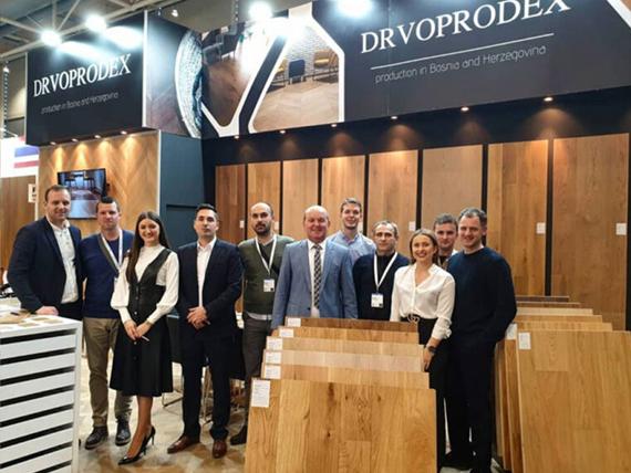 Uspešan nastup kompanije DRVOPRODEX na sajmu DOMOTEX 2020