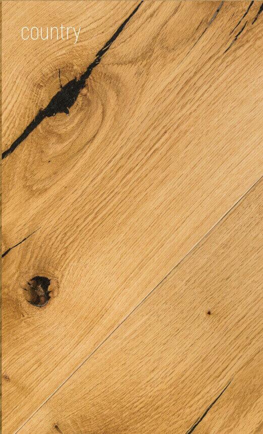 Višeslojni podovi: Parket Hrast/Orah Country, Parket za podno grijanje